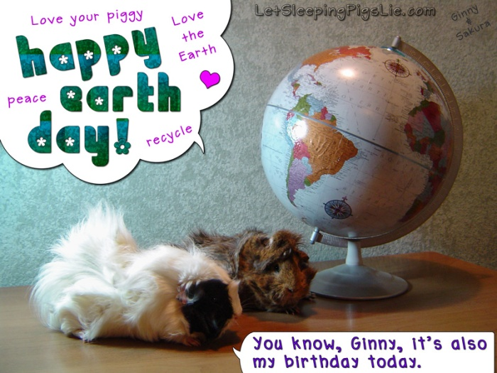 Earth Day, by LetSleepingPigsLie