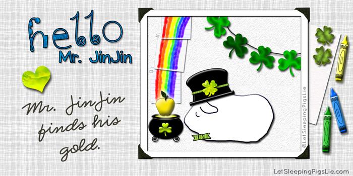 Mr. JinJin Finds His Gold, by LetSleepingPigsLie