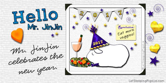 Mr. JinJin Celebrates the New Year