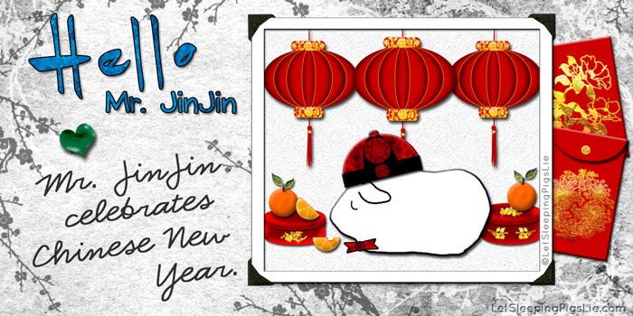 Mr. JinJin Celebrates Chinese New Year, by LetSleepingPigsLie