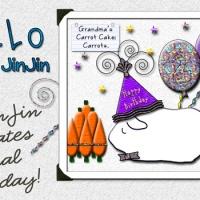 Mr. JinJin Celebrates a Special Birthday